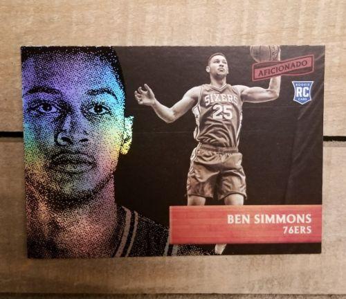 BEN SIMMONS 2016-17 Panini Aficionado ROOKIE #35! Philadelphia 76ers RC!