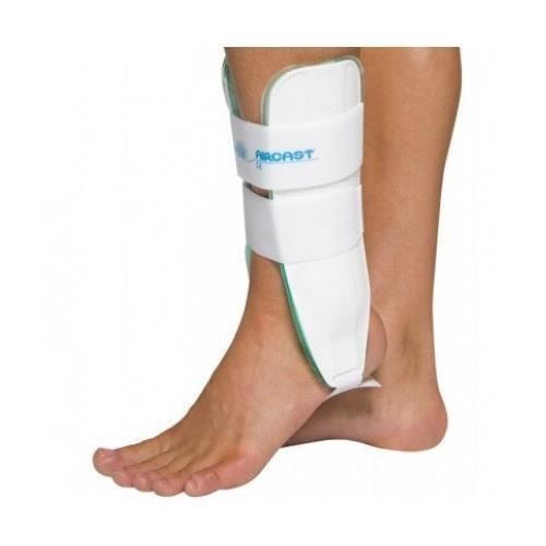AIRCAST Air Stirrup Ankle Support Brace Right Foot LARGE NEW IN BOX Retail $95