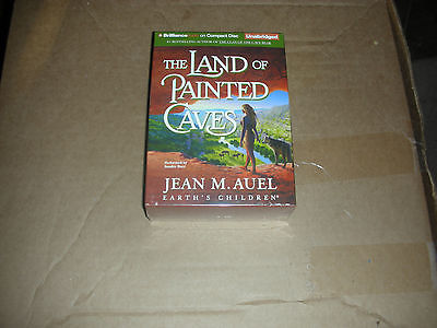 The Land of Painted Caves by Jean Auel  (Unabridged Audiobook on CDs)