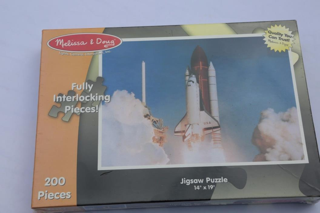 Melissa and Doug 200 Piece Space Shuttle Puzzle Brand New in the Box.