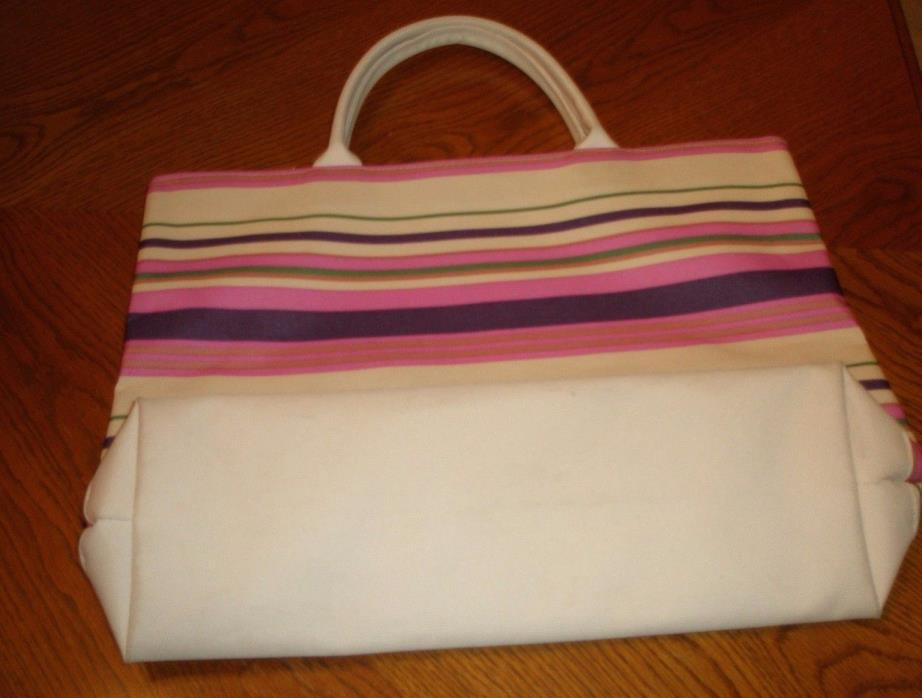 ESTEE LAUDER ~ Large  Shopping Bag  ~  Bag with Handles ~ Stripes  ~ NEW