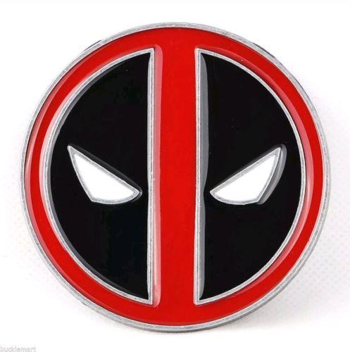 DEADPOOL The Merc with a Mouth Belt Buckle Logo X-Men Wade Wilson Marvel Comics
