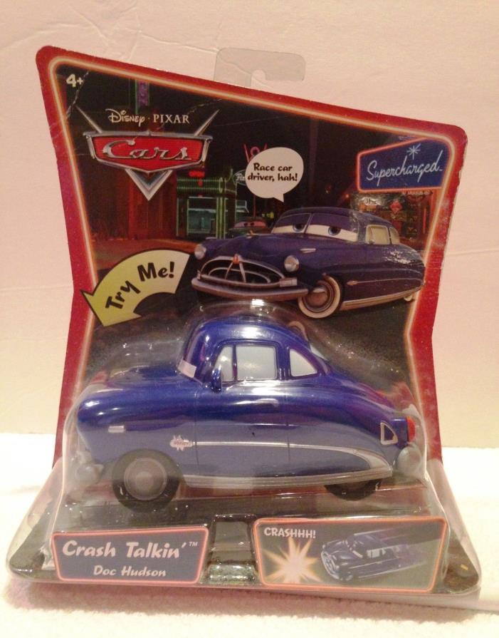 Disney Pixar Cars Supercharged Crash Talkin Doc Hudson New in package MCQUEEN