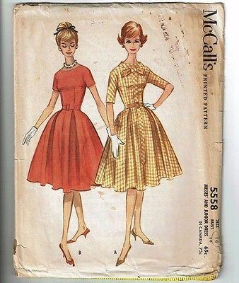 McCalls # 5558 Vintage