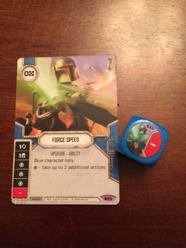 Star Wars Destiny -- Force Speed -- Legendary #55 -- Spirit of Rebellion