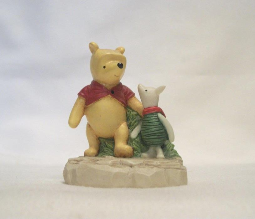 Lenox Disney Winnie the Pooh Thimble – POOH AND PIGLET HOLDING HANDS