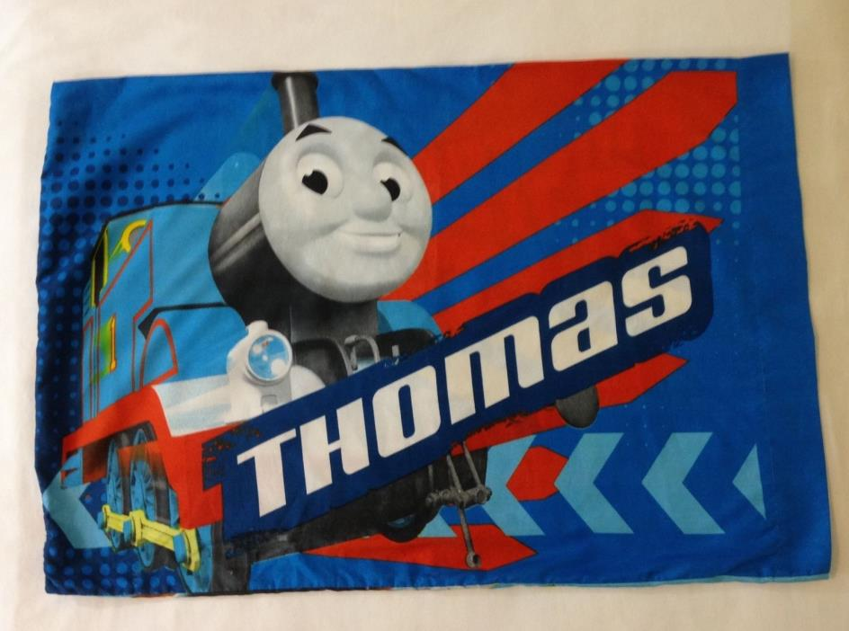 Thomas and Friends 'Faster!' Pillowcase Twin Size Thomas the Tank Engine 2013