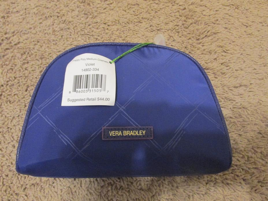 Vera Bradley Preppy Poly Medium Cosmetic Bag