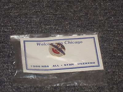 NBA All-Star Game souvenir pin 1988