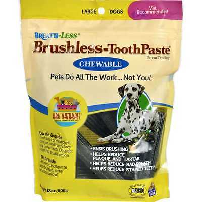 Ark Naturals Breath-Less Brushless-Toothpaste Large Dogs - 18 oz