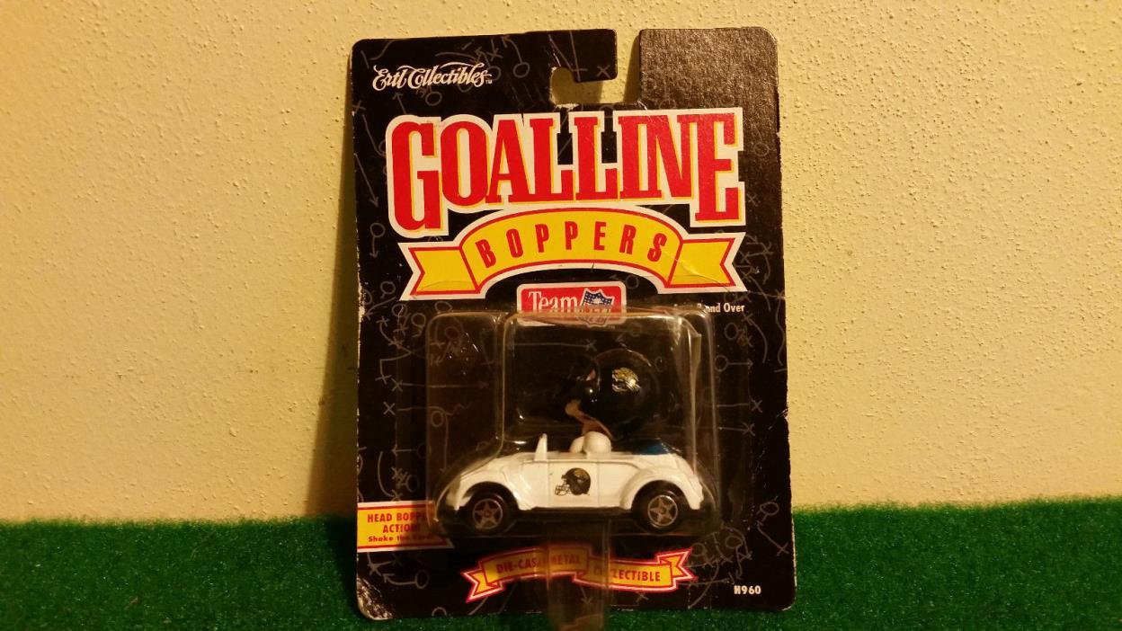 Jacksonville Jaguars Goal Line Boppers Bobble Head Die Cast Vw Beetle