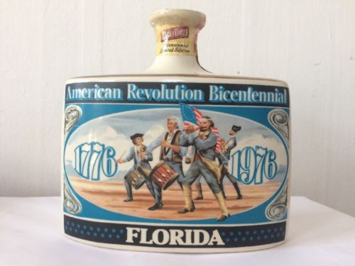 Early Times Distillery  1976 Bicentennial Limited Edition Bottle : FLORIDA