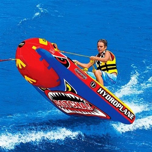 Water Inflatable Towable Ski Tube Watersports Rider Summer Single Lake Sea Kids