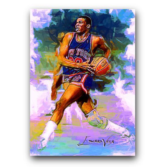 Bernard King Sketch Card Limited 9/25 Edward Vela Signed