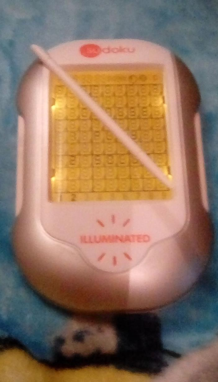 Handheld Electronic SUDOKU Mega Sceen Game - Techno Source Illuminated w/Stylus