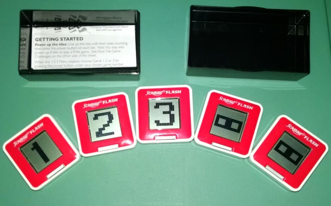Scrabble Flash Electronic Game - Featuring 6 different ways to play!