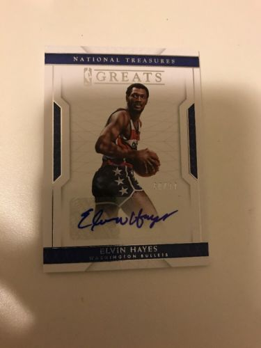 2016-17 National Treasures Elvin Hayes Greats Auto 60/99