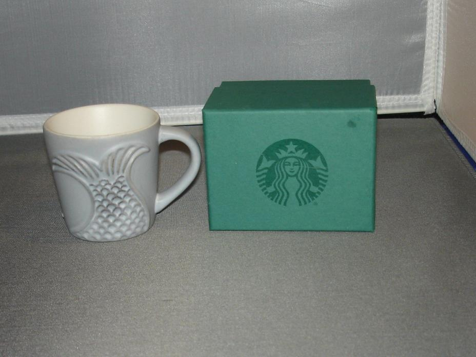 STARBUCKS 2016 TAIL OF THE SIREN 3 0Z ESPRESSO CUP W/BOX  NWOTS