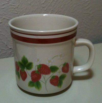 Vintage Sango Fujistone Berries Mug 3.25