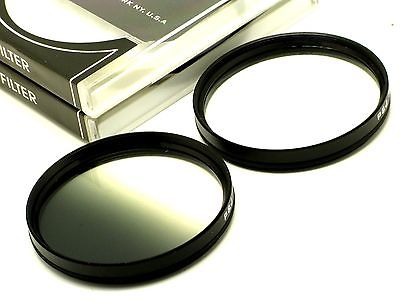 72mm Graduated Grey + 4 Point Star Filters Set For All 72mm Filter Size Lens