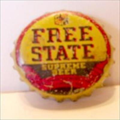 Free State Supreme Beer Cork  Bottle Cap