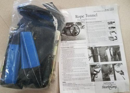 NEW HEARTHSONG ROPE TUNNEL HANGER RATCHET STRAP SET MISSING NET