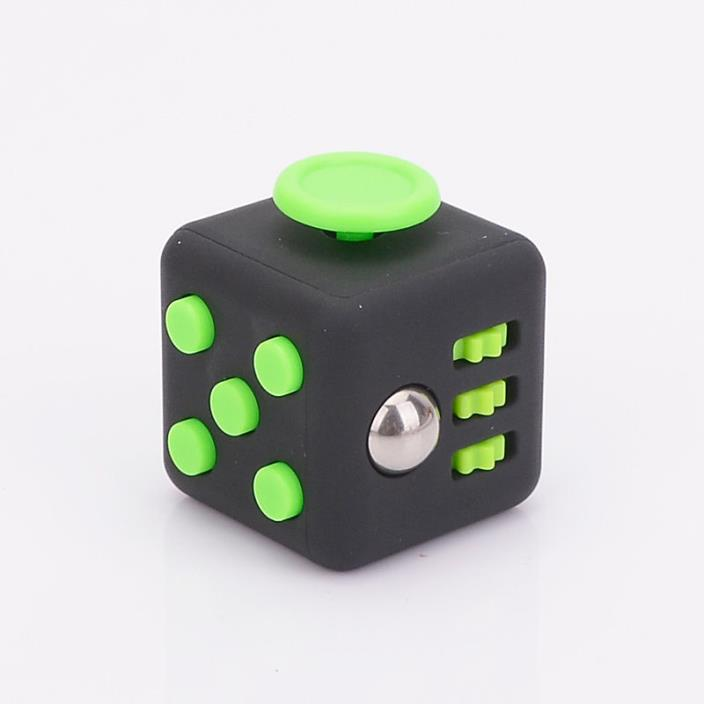 Magic *Green Fidget focus toy Cube *Stress *anxiety relief *ADHD *Autism therapy