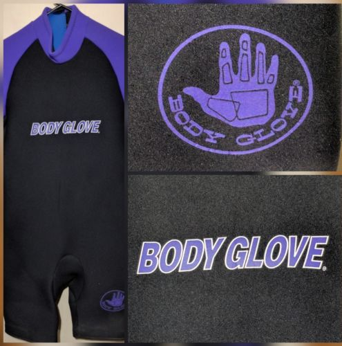 Body Glove Wetsuit  Black Purple (3.2 mm) Shorty
