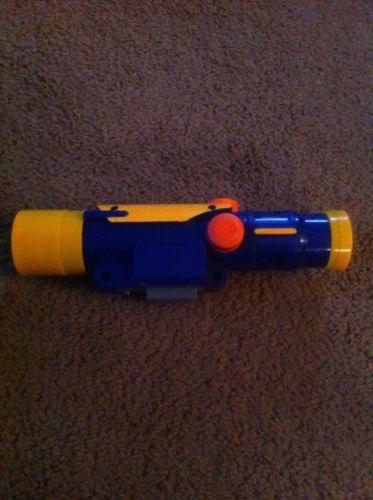 Nerf Tactical Scope  N-STRIKE  CS-6 Blue & Yellow LONG SHOT LONGSTRIKE