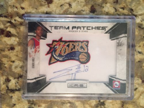 2010 Panini Rookies and Stars Evan Turner Rookie Auto Patch /455