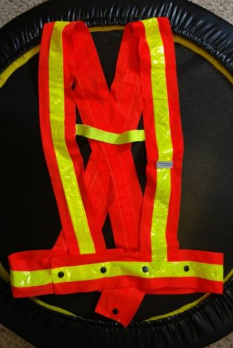Ergodyne GloWear 8140HG High Visibility Sash, XL/XXL, Orange/Lime New