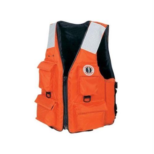 Mustang 4-Pocket Flotation Vest - SM [MV3128T2-S-OR]