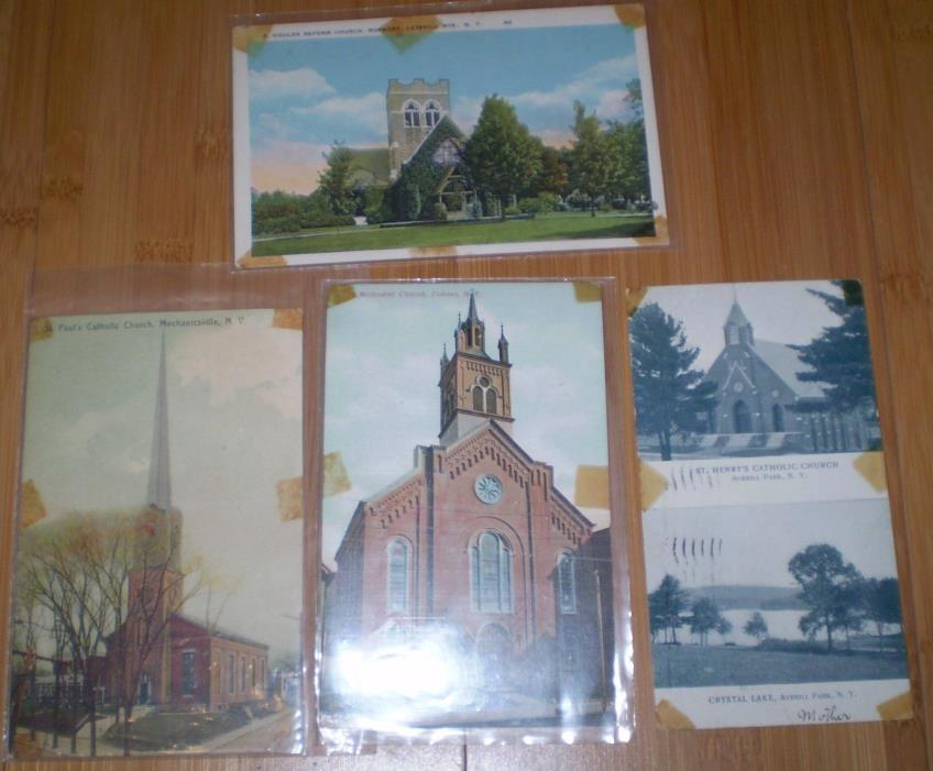 Upstate New York Postcards Choes Mechanicsville ..