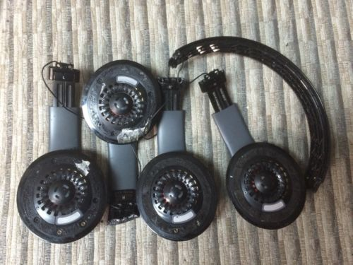 Lots 2 Beats by Dr. Dre Solo2 Wired Headband Headphones - Black - Broken