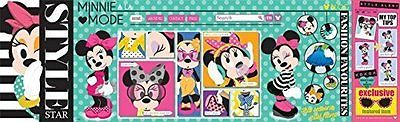 Disney Minnie Mouse a la Mode Fashion Style Star Panoramas Mega Puzzle