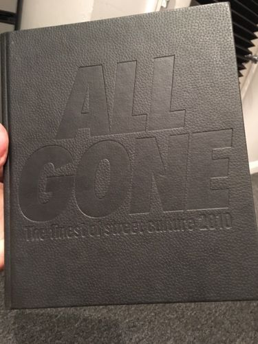 RARE 2010 Black Edition Lamjc ALL GONE Book street Culture . Limited 500 Copies