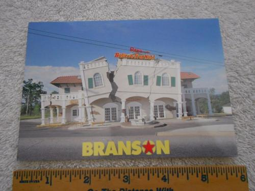 Ripley's Believe It or Not Museum Branson Missouri Postcard