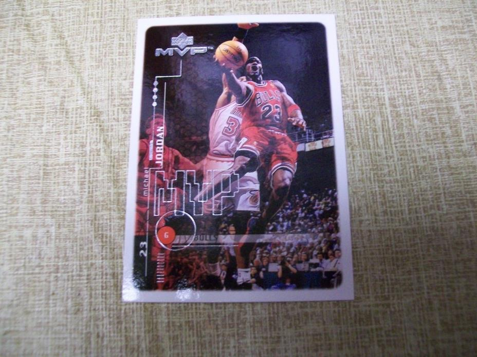 1999-2000 Upper Deck Basketball Michael Jordan S1 Promo Card