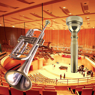 Brand New Trumpet Mouthpiece for Bach 7C Size Gold Plated HM