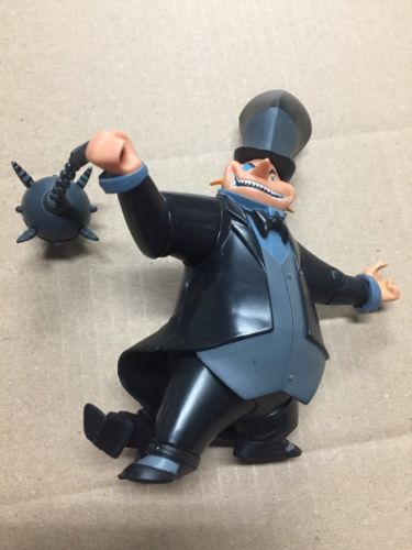 The Batman Animated Shadow PENGUIN Action Figure cartoon DC Mattel 2007