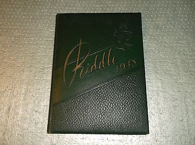 1948 Mattoon High School Yearbook Mattoon, Illinois  the Riddle