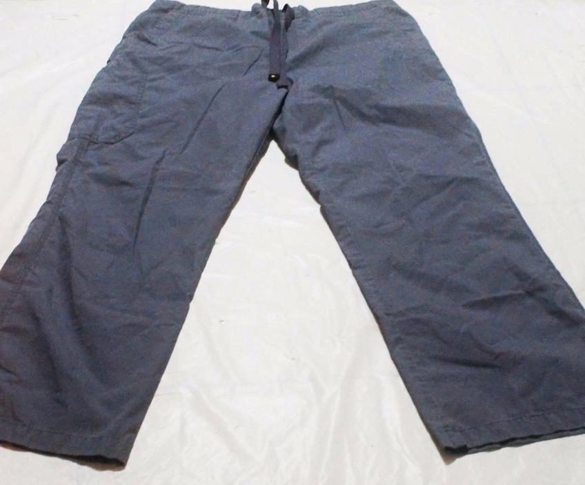 Carhartt Gray Scrub Medical Nurse Uniform Pants Size Large