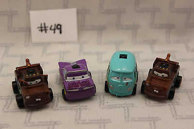 Disney Cars Mini Infrared Lot Battery operated No Remote Mater Ramone Fillmore