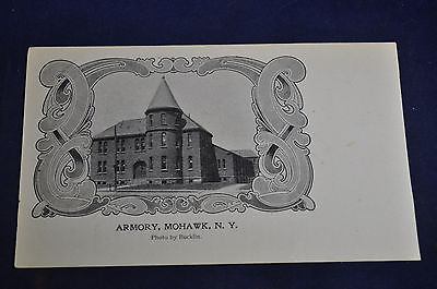Armory Mohawk NY Private Mailing Postcard