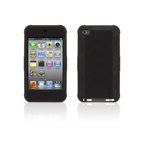 Griffin GB02693 Protector Case Cover for iPod touch 4th generation, Black New