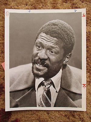 1971 Bill Russell Boston Celtics ABC Promo 7x9 Photo University of San Francisco
