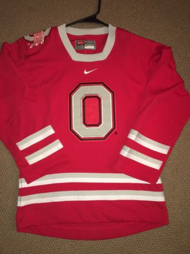 Ohio State University Buckeyes Nike Hockey Jersey Youth Size M (12-14)