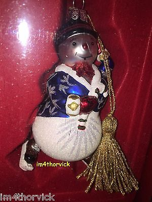 Waterford Marquis Glass Christmas Ornament Snow Boy Skater NIB