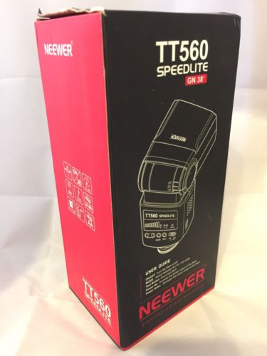 Neewer TT560 Flash Speedlite for Canon 650D 450D 550D 500D 60D 600D 1100D 40D
