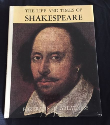 Vintage (1968) THE LIFE & TIMES OF Shakespeare Portraits of Greatness